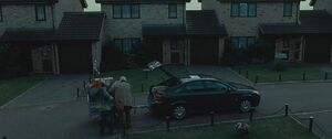 The Dursley's departure