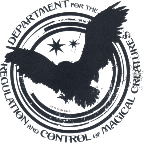Datei:Department for the Regulation and Control of Magical Creatures logo.png