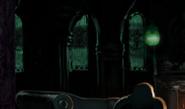 Detalj fra smygards oppholdsrom