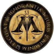 Ministry of Magic Latin Logo