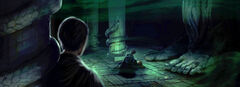 B2C17M1 Harry Ginny Tom Chamber of Secrets