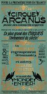 Circus Arcanus Show Poster - Le Plus Grand