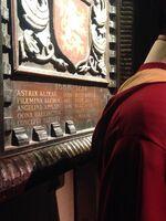 Gryffindor Quidditch Captains Plaque