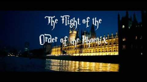 The Flight Of The Order Of The Phoenix