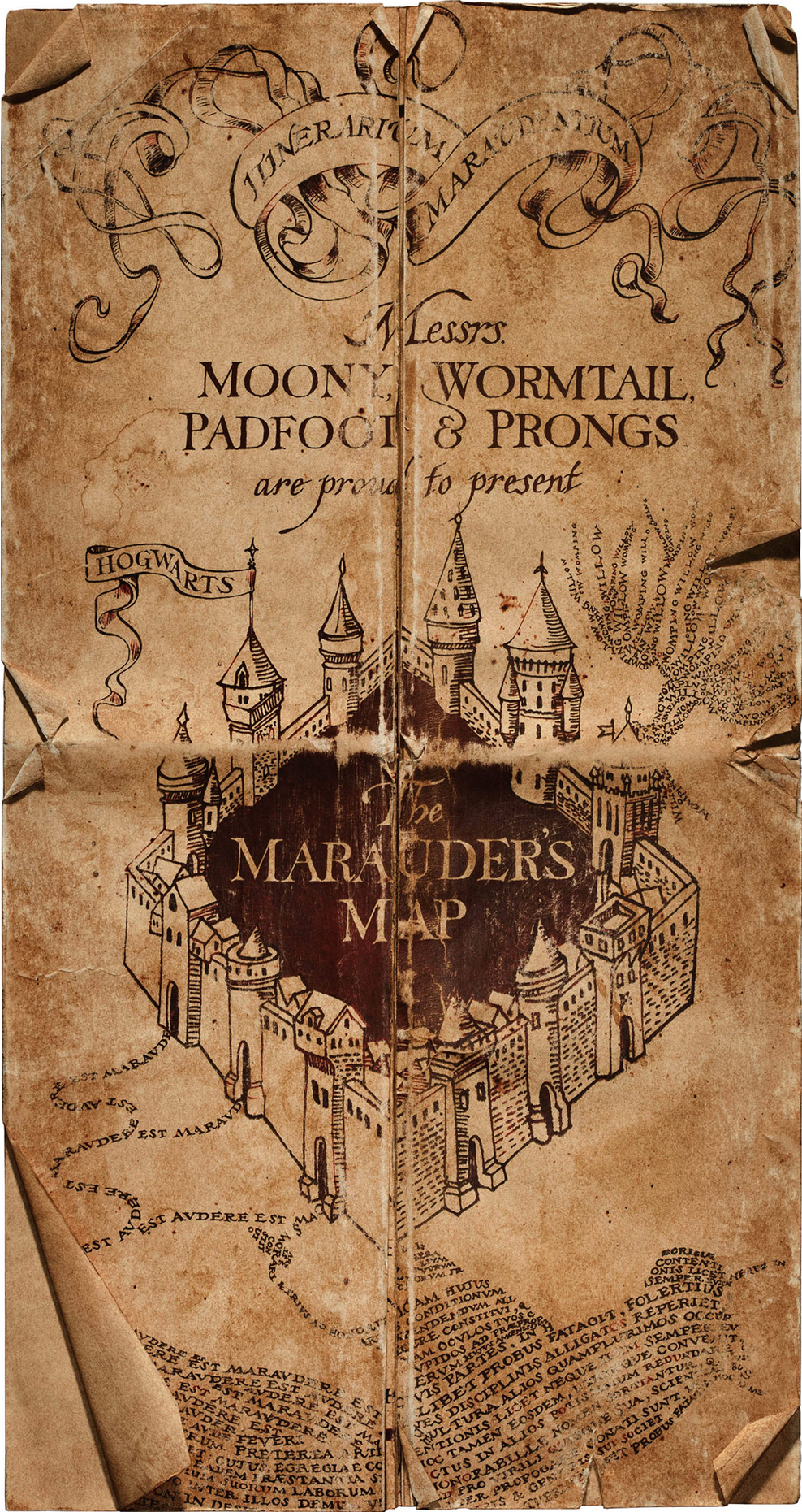 marauder's map. marauder's map  harry potter wiki  fandom powered by wikia