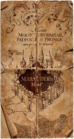 Harry Potter Karte Des Rumtreibers Spruch.Karte Des Rumtreibers Harry Potter Lexikon Fandom Powered By Wikia