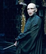 Voldemort + Zauberstab