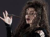 DH1 Bellatrix Lestrange with her wand 01
