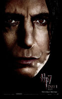 DHf1-Poster CloseUpSeverusSnape