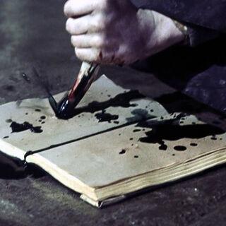 Гарри уничтожает дневник