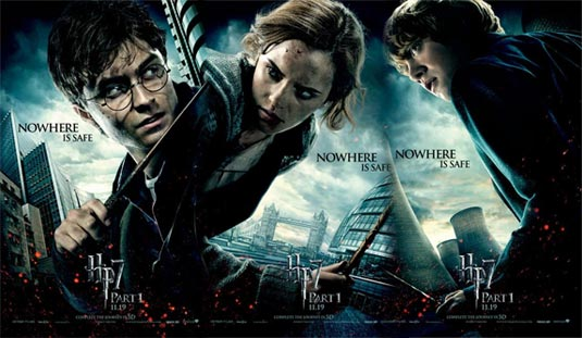 image o new harry potter and the deathly hallows part  o new harry potter and the deathly hallows part 1 character posters ron hermione and harry jpg