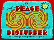 MinaLima Store - The Peace Disturber - Poster