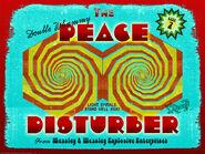 MinaLima Store - The Peace Disturber - Poster