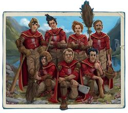 Wigtown Wanderers (Quidditch Through the Ages 2017, Jonny Duddle illustrations)