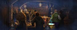 Slughorn lekcja eliksirow