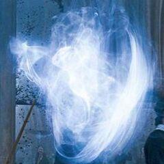 Патронус зарождается из волшебной палочки