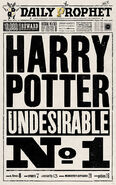 MinaLima Store - The Daily Prophet - Undesirable Number 1
