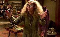 Sybill Trelawney insegna Divinazione