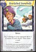 Zaczarowane śnieżki (karta)