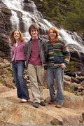 7. Hermione, Harry & Ron;