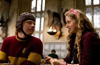 Lavender Brown and Ron Weasley 03