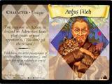 Argus Filch (Trading Card)