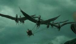 Beauxbatons carriage GOF 1