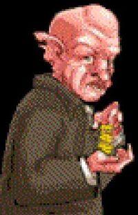Flirgott var en berømt gnom som grunnla Trollmannsbanken Flirgott