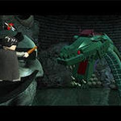 Сражение в Тайной комнате в игре <a href=