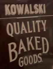Kowalski Bakery Logo