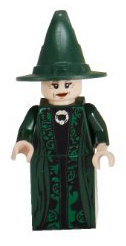LEGO minifigure of Minerva McGonagall