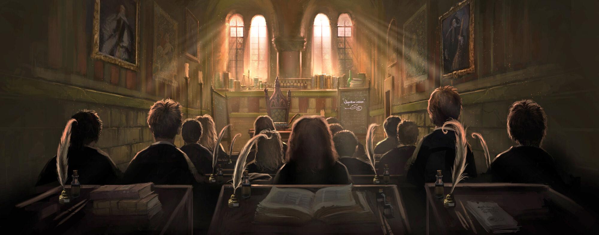 Charms Classroom Harry Potter Wiki Fandom