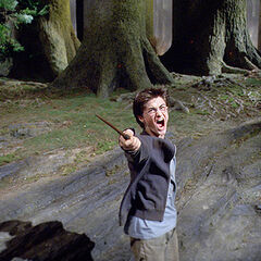 Гарри вызывает Патронус