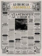 Le Cri De La Gargouille – 'Catastrophe Au Cirque'