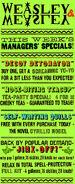 MinaLima Store - Weasleys' Wizard Wheezes Advert