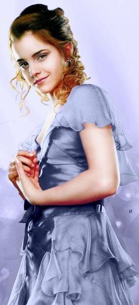 Bild - Hermine GOF-Ball Kleid blau.jpg | Harry-Potter-Lexikon ...