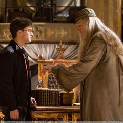 Беседа Гарри с директором