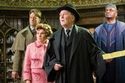 Dawlish, Umbridge, Fudge e Shacklebolt