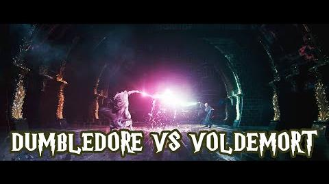 Dumbledore vs Voldemort Harry Potter e a Ordem da Fênix (HD - Dublado)