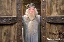 Dumbledore zamykajacy brame