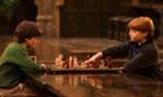 Harry og Ronny spiller Trollmannssjakk i 1991