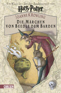 Tales of Beedle the Bard book Cover for German Version