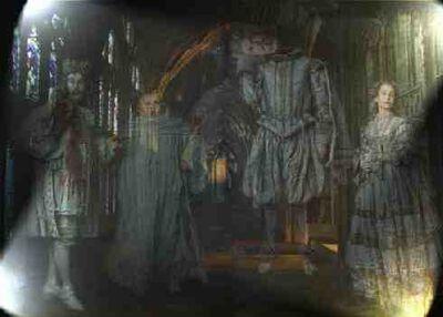 De fire Galtvortsspøkelsenen