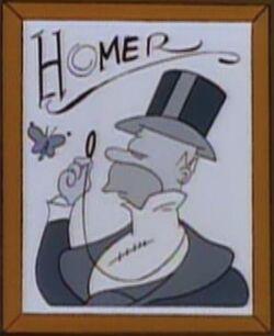 Homer Mount Lushmore