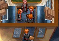 Weasley dans le Poudlard Express