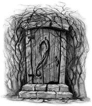 Дверь дома