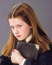 Ginny in haar eerste jaar op Zweinstein
