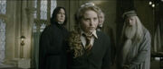 Snape, Slughorn, Dumbledore + Lavender