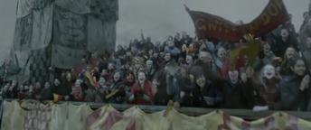 Graderies hogwarts