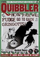 MinaLima Store - The Quibbler - Fudge